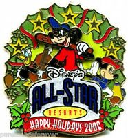WDW Happy Holidays 2006: All-Star Resorts LE 750 Pin