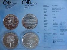 La república checa 2008 200 coronas moneda de plata coin St-Schengen adhesión -