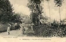 CARTE POSTALE / ISERE / MORESTEL VUE PRISE DE LA ROUTE DU BOUCHAGE