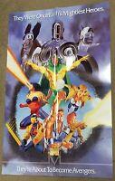 Avengers Marvel Comic Poster ~ Vision Black Widow Iron Man Thor Captain America