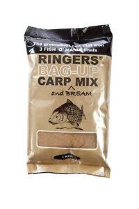 Ringers Bag-Up Carp Mix 1kg Groundbait Carp Fishing Bait