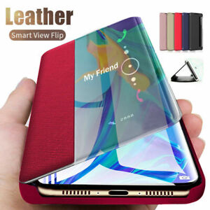 Smart Phone Case for Samsung Galaxy S21/Ultra/S20 FE/S9 Leather Flip Stand Cover