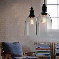 Modern Ceiling Light Lighting Crystal Glass Pendant Chandelier Lamp Fixture Deco