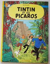 Tintin et Les Picaros HERGE éd Casterman rééd