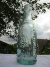 CROWN CAP BEER MINERAL WATER BOTTLE N. S. A. W. CO SEREMBAN & KLUMPUR