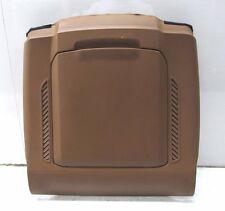 2004-2008 AUDI A8L W12 OEM LEFT FRONT DRIVER SEAT BACKSIDE PANEL COVER BROWN
