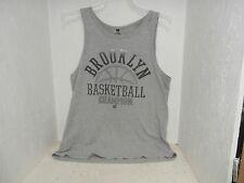 South Pole Men's Sleeveless Brooklyn Basketball Shirt Gray Size Xl Used!