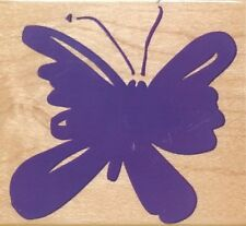 Hero Arts Wood Mounted Rubber Stamp - Butterfly #2
