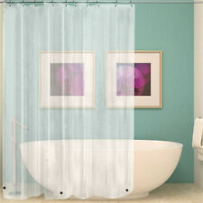 PEVA W/3 Magnets Transparent Shower Curtain Waterproof Mildew Shower Curtain
