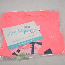 Simple Joys By Carter's Toddler Girl's 2-Piece Rashguard Set Pink/Navy