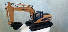 HUINA 1350 1:14 SCALE, 2.4 GHz, 15 CH, R/C 360 EXCAVATOR, PRE OWNED WITH BOX.