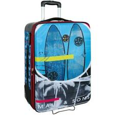 Trolley Maui and Sons Skateboard Surf Viaggio semirigido Celeste Valigia Cm. 66