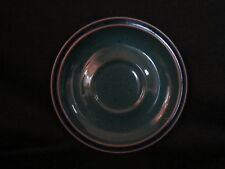 Denby HARLEQUIN - Saucer Only Blue and Green