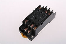 11pin 35mm Pyf11a Din Rail Mounted Hh53pl Power Relay Socket Base