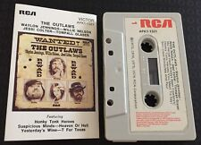 The Outlaws ~ WAYLON JENNINGS/WILLIE NELSON/JESSI COLTER/GLASER Cassette Tape