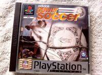 40812 Adidas Power Soccer - Sony PS1 Playstation 1 (1997) SLES 00189