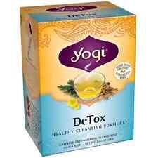 Yogi Herbal Tea Bags, Detox 16 ea (Pack of 2)