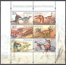 Poland 2000 - Dinosaurs - sheet Mi bl 139 MNH (**)
