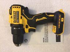 "New Dewalt DCD708B 20V Max 1/2"" Atomic Compact 2 Speed Brushless Drill Driver"