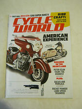 January 2014 Cycle World Magazine - 2014 KTM 1290 Super Duke R (BD-24)
