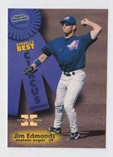 1998 FLEER SPORTS ILLUSTRATED JIM EDMONDS FIRST EDITION MASTERPIECE 1/1 RARE!
