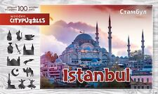 """Wooden Figure Jigsaw Puzzle """"Istanbul"""""""