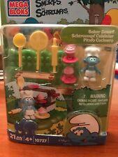 Mega Bloks Smurfs Baker Smurf Building Playset-New in Packaging