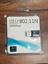 USB 2.0 WIRELESS 11N USB ADAPTER  300Mbps