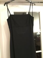 Arianna by Teresa Page Black Strappy Maxi/Formal Dress Size 12 USED