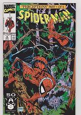 SPIDER-MAN #8 NM 1991 GHOST RIDER CO. STARS TODD McFARLANE ART MARVEL COMICS