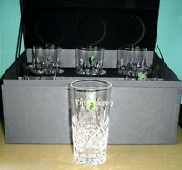 Waterford Lismore Hiball Highball Set of 6 Glasses 156438 Deluxe Gift Boxed NEW