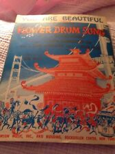 """You Are Beautiful from """"Flower Drum Song"""" sheet music Rodgers and Hammerstein"""