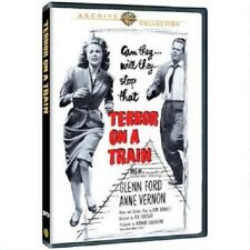 TERROR ON A TRAIN. Glenn Ford (1952). UK compatible, region free. New DVD.