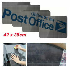 4 x Car Static Cling Interior Protection Baby Children Window Sun Block Shades #