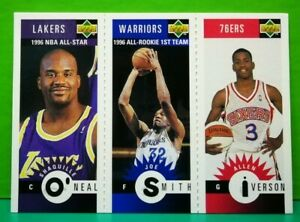 Shaquille O'Neal insert card Mini-Cards 1996-97 Upper Deck Collector's Choice...