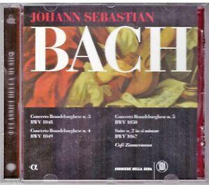CD. JOHANN SEBASTIAN BACH: CONCERTI E SUITE. NUOVO