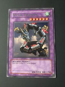 Yugioh Metal Dragon Unlimited Edition Rare LOB-E082