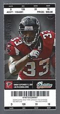 2009 NFL MIAMI DOLPHINS @ ATLANTA FALCONS FULL UNUSED FOOTBALL TICKET
