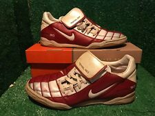 NIKE TIEMPO Indoor R10 RONALDINHO RED T90 CTR360 SOCCER SHOES RARE 9 10 44