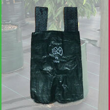 Woven Plant Bags with handles - 75 litre planter bag Landscape Growbag