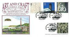 2000 Art & Craft, Dawn Bradford City, 40th Anniversary of Last B17 Official FDC