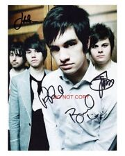 """Panic! at the Disco 8x10"""" Reprint Signed Autographed Photo #1 RP Brendon Urie"""