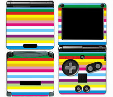 Rainbow 008 Vinyl Decal Skin Cover Sticker for Game Boy Advance GBA SP