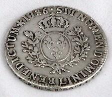 Écu Royal en argent ++Louis XVI 1786  aux branches d'olivier