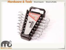 Husky Cr-V 8pc Combination/Ring Open End Spanner Set: 8-16mm #47508