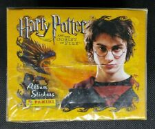 More details for factory sealed! harry potter goblet of fire panini sticker box 50 packs!