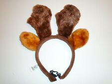 Christmas Reindeer ANTLERS Holiday Dog Hat / Costume Accessory M/L New Petco
