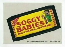 1974 Topps Wacky Packages 7th Series 7 SOGGY BABIES nm-