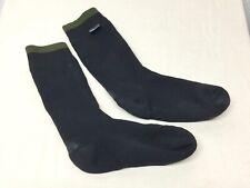 British Army-Issue Calf-Length Black Sealskinz Duty Socks. Large. Size 7.