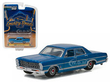 1967 FORD GALAXIE 500 BLUE COUNTRY ROADS SERIES 15 1/64 GREENLIGHT 29850 B